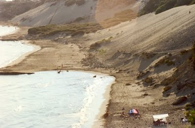 Notos Villas is only a few metres away from this beach